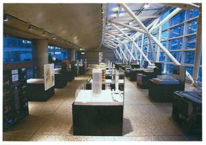 建築模型模型展示台 in東京国際フォーラム