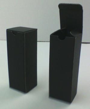 小さな底地獄式の黒い箱