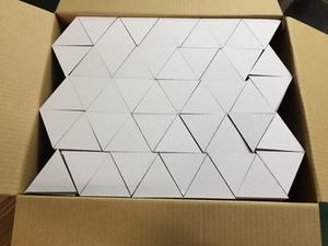 正三角形のカット