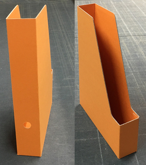 オリジナルPRパンフレット用 A4 ボックス