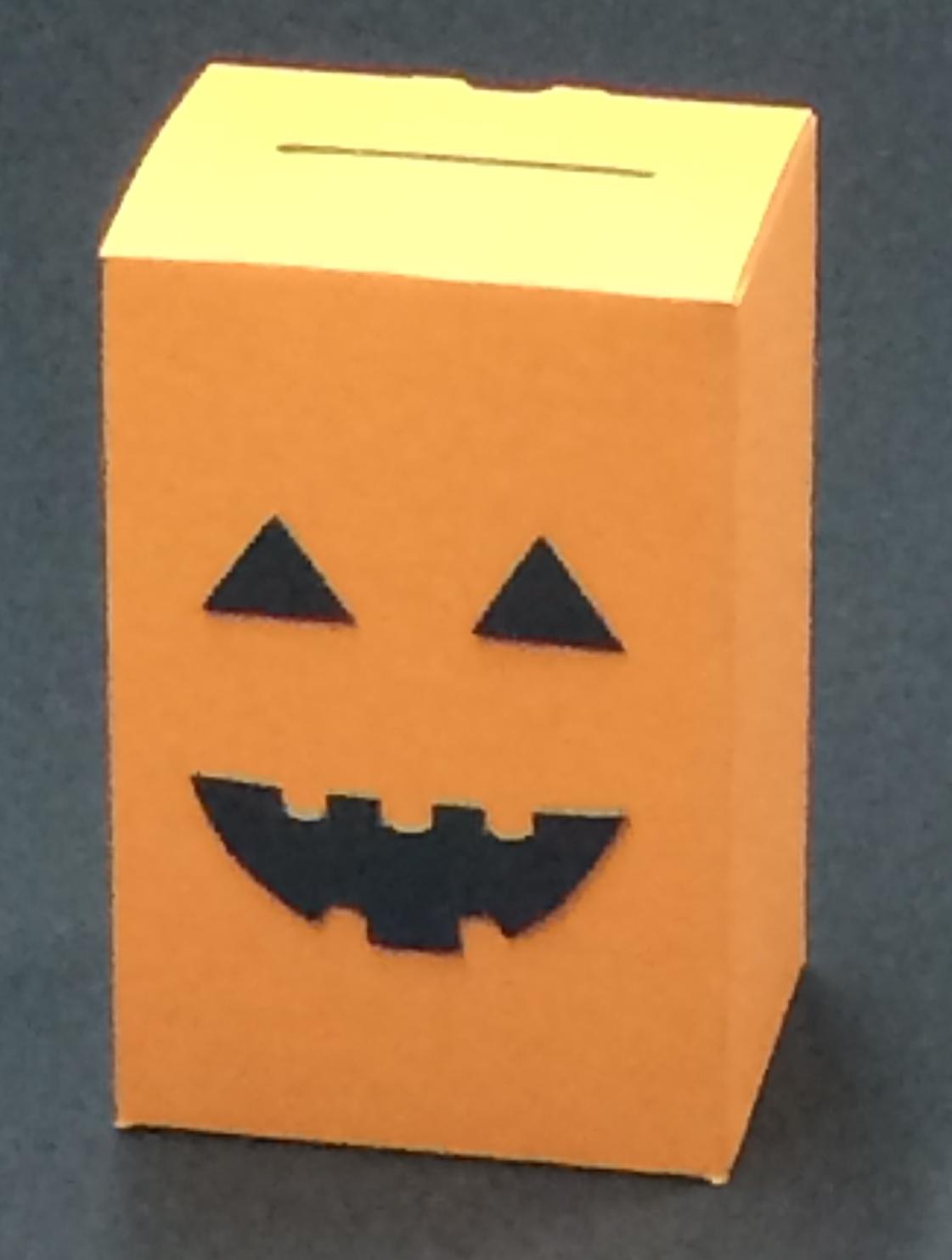 ハロウィン用募金箱