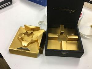 バレンタイン チョコの箱