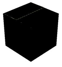 黒の展示台