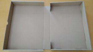 ★蓋が付いていて、本のように立てれる箱★