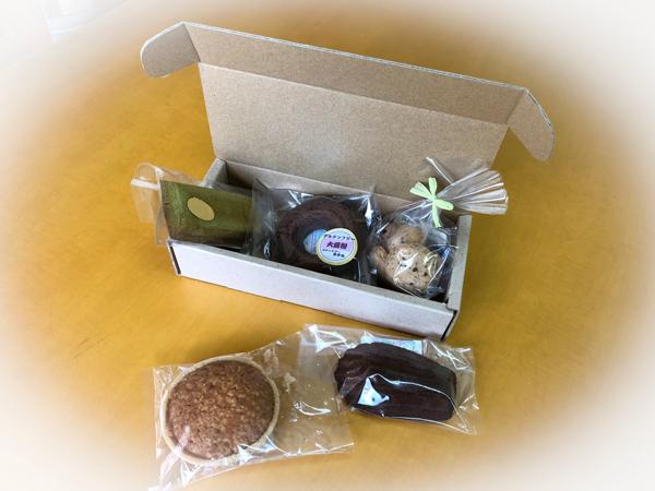 焼き菓子のパッケージ